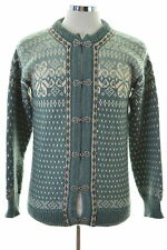 Dale Of Norway Mens Cardigan Sweater Small Multi