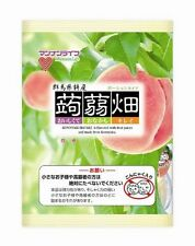From Japan, Konjak Konnyaku Batake Jelly,Set of 3,Peach Flavor