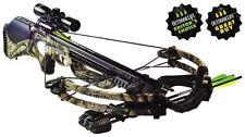 NEW Camo Barnett Ghost 410 1.5-5X Scope Crossbow Pkg 410 FPS 78222