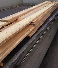 "9"" Wide Reclaimed Pitch Pine Square Edge Floorboards"