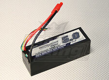 New Turnigy 5000mAh 4S 14.8v 20C 30C Lipo Battery Pack Losi HPI Venom hard case