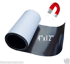 Flexible Magnetic Sheet 4x12 inch for magnetizing bumper stickers, material film