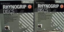 Two Pack Indasa  5 inch Solid  Hook & Loop Sanding Discs 100 Grit 50/Box = 100