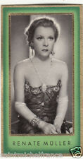 RENATE MULLER Müller ACTRESS ACTRICE GERMANY ALLEMAGNE DEUTCHLAND IMAGE CARD 30s