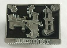 MACHINEST MACHINES TOOL BELT BUCKLE OCCUPATIONAL MADE IN USA NEW