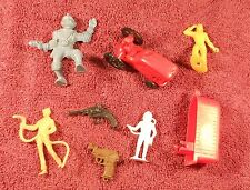 Vintage 1950's/60's small Toy Lot MPC  Marx Wannatoys - Guns Figures Tractor