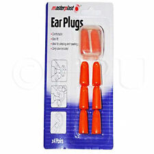 8 SOFT FOAM EAR PLUGS 4 PAIRS EARPLUGS MOLDABLE SILICONE NOISE SLEEP