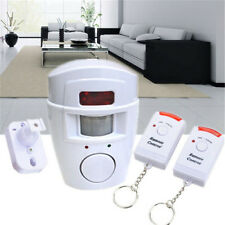 Home Security Alarm System IR Sensor Remote Control Wireless Infrared Motion Set