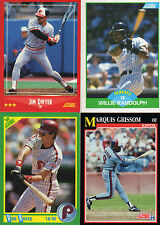 1988 89 90 91 92 93 94 95 96 97 98 Score Baseball complete your set you pick 25
