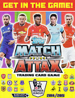 Match Attax 2014 2015 Trading Cards 14/15 Bronze, Silver or Gold Limited Edition