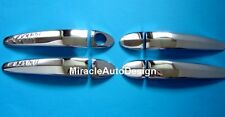 CHROME STAINLESS STEEL DOOR HANDLE COVER SET FOR 2004-2010 BMW E60 5-SERIES