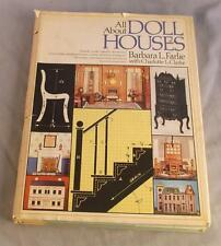 ALL ABOUT DOLL HOUSES BY BABARA L. FARLIE WITH CHARLOTTE L. CLARKE 1975 DJ