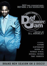 Russell Simmons' DEF COMEDY JAM Hosted by D.L. Hughley (2-Disc Set) DVD