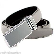 Ceinture grise Taille 42 pour FEMME fille belt grey woman automatique a cliquet