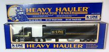 K LINE  ELECTRIC TRAINS  SEMI  TRACTOR TRAILER  TRUCK  O scale 1/43  On30 On3