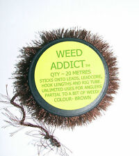 Weed Addict Brown 20mtrs - Tackle Lead Disguise  - Carp Coarse Sea