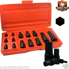 BLACK IMPACT MM METRIC SIZE HEX ALLEN BIT SOCKET DRIVE TOOL SET FOR WRENCH