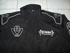 NEU SCANIA V8 King of the Route Fan-Jacke schwarz jacket veste jas giacca jakka