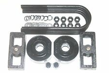 "FORD F150 1980-1996 LIFT KIT FRONT 2"" SPACERS REAR 1"" FORGED STEEL BLOCKS 4WD B2"
