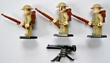 Lego Compatible WW2 British Infantry Section