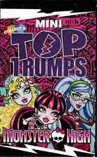 Monster high mini top trumps cards