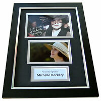 MICHELLE DOCKERY Signed A4 FRAMED Photo Autograph Display DOWNTON ABBEY TV & COA