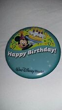 Disney World Happy Birthday button pin - 2016 version - NEW