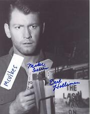 "Earl Holliman as ""Mike Ferris"" The Twilight Zone Autographed 8x10 Photo #2 COA"