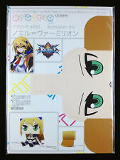 BlazBlue Noel Vermillion Graphig Paper Toy Figure Cospa WonderGOO New