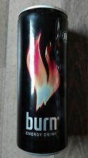 1 leere Energy drink Dose Burn ITALIEN Can 250ml Empty SELTEN RAR  Coca Cola