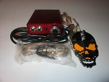 Tattoo Power Supply With Custom Foot Switch & Clip Cord