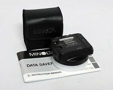 Minolta Data Saver DS-100 S100 Maxxum Dynax 7 35mm SLR film camera Smart Media