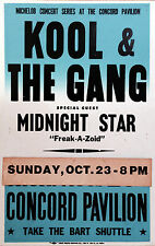 """Kool and the Gang Concord 16"""" x 12"""" Photo Repro Concert Poster"""