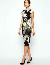 Ted Baker London  Candiss Opulent  Dress Size 0 Ted Baker ,US Size 2