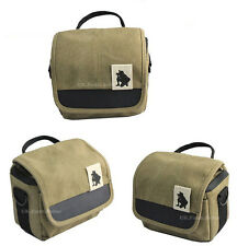 Canvas Shoulder Waist Camera Case Bag For Olympus PEN E-PL7 E-PL6 E-PL5 E-P3