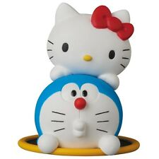 Ultra Detail Figure UDF  DORAEMON meets HELLO KITTY DORAEMON × HELLO KITTY
