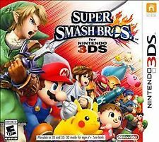 Super Smash Bros. GAME Nintendo 3DS 3 DS 2 2DS BROTHERS