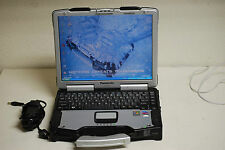 Panasonic Toughbook Tuff Rugged Intel Core 1.6ghz 2gig 80gb DVDRW Windows XP Pro