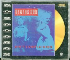 Status Quo  CD-VIDEO   AIN'T COMPLAINING / IN THE ARMY NOW ( REMIX)  © UK 1988