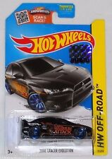 2015 HOT WHEELS RLC FACTORY SET OFF ROAD 2008 LANCER EVOLUTION