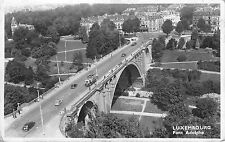 BF34184 luxembourg pont adolphe car   front/back scan