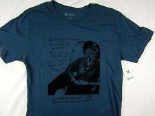 DC Shoes Mikey Taylor Millions Pro Skater t shirt men's blue size LARGE
