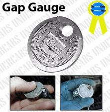 "12 Pack TOOL SPARK PLUG GAP GAUGE 1.5"" DIAMETER GAPPER OPENER FEELERTAPER"