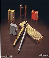 PUBLICITE ADVERTISING 095 1976 S.T. Dupont briquets