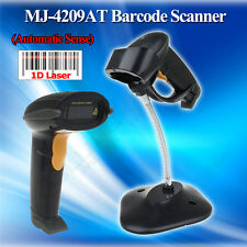 Wired Barcode Scanner Portable Handheld USB Laser Scan Bar Code Reader POS+Stand