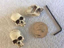 Made in USA Skull Guitar Pots tuning Knob fits Fender Strat Stratocaster 15-APK3