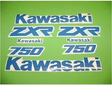 ZXR 750  vintage 1989 -1990 motorcycle decals stickers