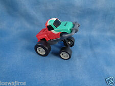 Sonic Push Down Windup Racer Truck Kids Meal Plastic Toy