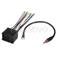 Stereo CD Radio Player Wire Harness Adapter Plug & Antenna For BMW 3 5 7 8 Z