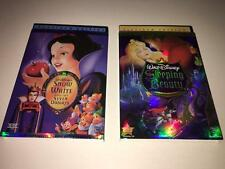Lot of 2 Disney DVD  Snow White and the Seven Dwarfs + Sleeping Beauty
